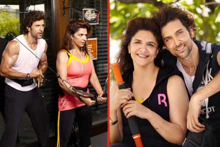Hrithik Roshan message from his mom