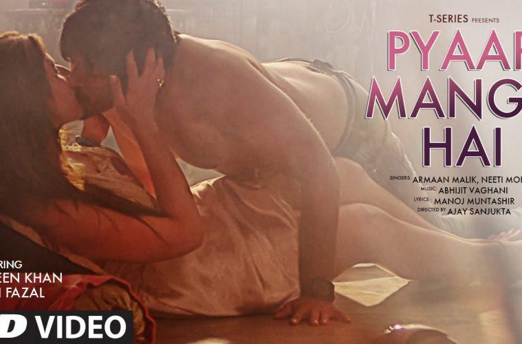 Ali Fazal and Zareen Khan's version of 'Pyaar Manga Hai' Song
