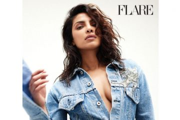 sexy priyanka chopra flare magazine photo