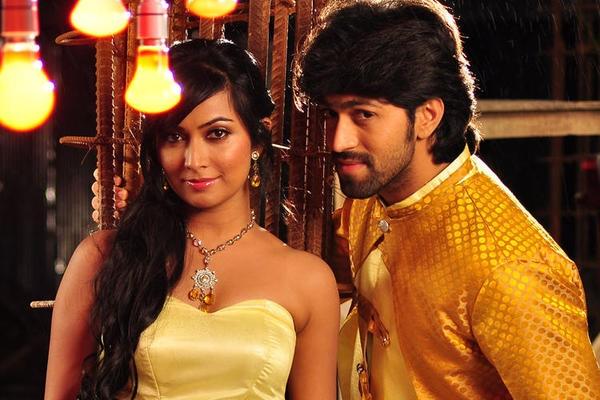 Radhika Pandit and Yash engagement