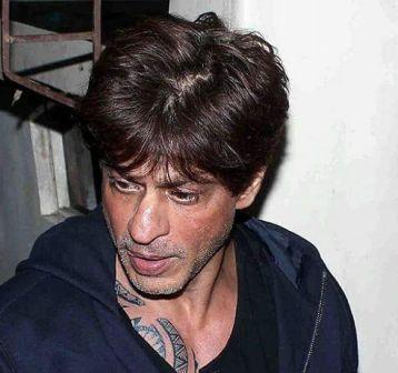 Shah rukh khan chest tattoo