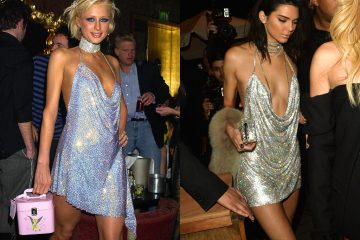 paris hilton and kendall jenner birthday dress