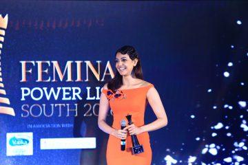 Kajal Aggarwal receives Femina Powerlist Awards 2016