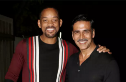 Will Smith parties with Akshay Kumar